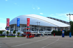 Fisht stadium in the Sochi Olympic Park Royalty Free Stock Photography