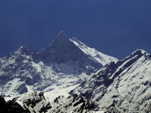 Fishtail Mountain- 6993m Stock Image