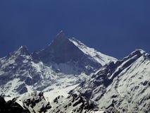 Fishtail Mountain- 6993m Stock Image
