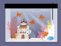 Fishtank stock illustrationer