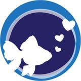 Fishy Love Royalty Free Stock Image