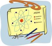 Fisica - catturi un esame Illustrazione di Stock