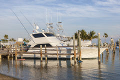 Fisihing boats at the Florida Keys Stock Photos