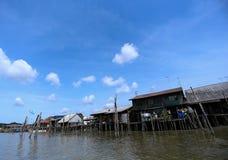 Fisihing Village. Fishing Village in Kuala Sepetang, Malaysia Royalty Free Stock Image