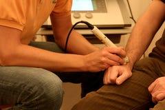 Fisioterapia Fotografía de archivo libre de regalías