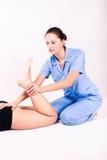 Fisioterapia Fotografia Stock Libera da Diritti