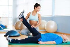 fisioterapia Immagini Stock