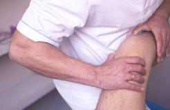 Fisioterapia da fisioterapia Foto de Stock