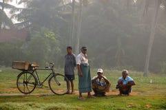 Fiskåterförsäljare i Sri Lanka royaltyfria foton