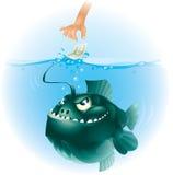 fisk 2 stock illustrationer