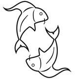 Fisk - Fiskarna Arkivbilder
