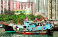 fiska för aberdeen fartyg Royaltyfri Bild