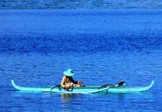Fiska för en uppehälle Royaltyfri Fotografi