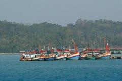fiska för fartyg Royaltyfri Foto