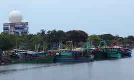 fiska för fartyg royaltyfria bilder