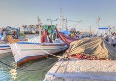 fiska för fartyg Royaltyfri Bild