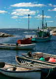 fiska för fartyg Arkivfoto