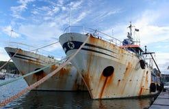 fiska för fartyg som är gammalt Arkivbilder