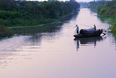 fiska för fartyg som är litet Royaltyfri Fotografi