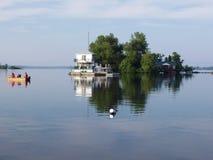 fiska ferie Arkivfoton