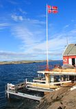 Fiska i Norge Royaltyfri Fotografi