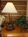 fiska klipsk lampa Arkivbild