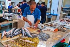 fiska marknaden Royaltyfri Foto