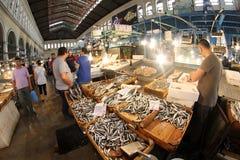 fiska marknaden Royaltyfria Foton