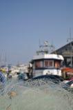 Fiska nätverket Fotografering för Bildbyråer