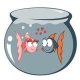 fiska roligt vektor illustrationer