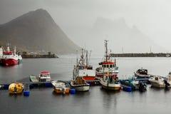 fiska ships Royaltyfri Fotografi