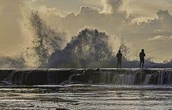 Fiska spänningsökare Royaltyfri Bild