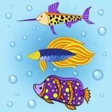 Fiskar 2 Arkivbild