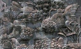 Fiskar från stenen Royaltyfri Fotografi