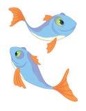 fiskar ii två Arkivbild