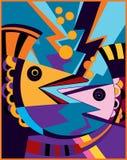 fiskar som talar två Royaltyfri Bild