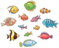 fiskar tropiskt Royaltyfri Fotografi