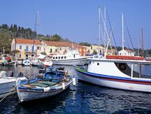 Fiskardo Harbour Stock Photo