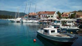 Fiskardo, Kefalonia, Grécia Imagem de Stock Royalty Free