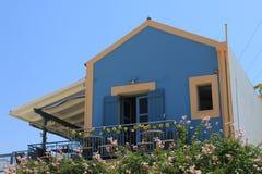 Fiskardo village in Cephalonia, Greece. royalty free stock image