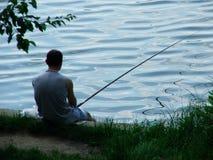 fiskare Arkivbild