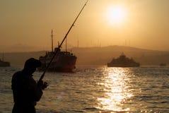 fiskare Royaltyfri Fotografi