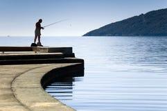 fiskare arkivfoto