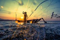 fiskare Royaltyfri Bild