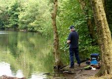 fiskare Royaltyfri Foto