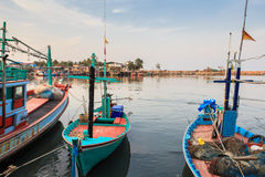 Fiskare Boat Fotografering för Bildbyråer