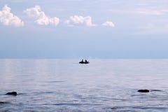 Fiskare i fartyget Arkivfoton