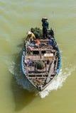 Fiskare i Vietnam Fotografering för Bildbyråer