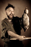 fiskare norway Arkivfoton
