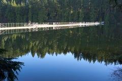 Fiskare på Sasamat sjön Royaltyfri Bild